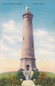 Myles Standish Monument Duxbury Massachusetts