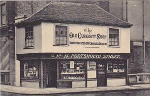The Old Curiosity Shop, No. 14 Portsmouth Street, Hampshire, England, UK, 190...