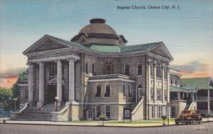 Baptist Church Ocean City New Jersey Curteich