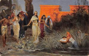 Joseph Moses Rescued by Pharaoh's Daughter The Holy Scripture Design Paint