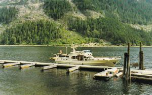 M.V. Gardina Boat, INDIAN ARM, British Columbia, Canada, 40-60´s