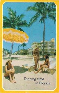 Florida FL, Beautiful Women on Beach, Sexy Girls, Bikini, Swimsuits 1983 Hotel