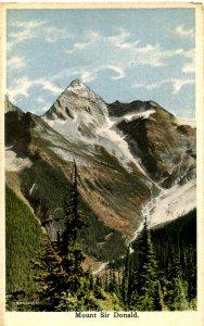 Canada - British Columbia. Mt. Sir Donald