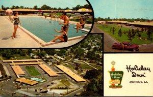 Louisiana Monroe Holiday Inn Downtown 1966
