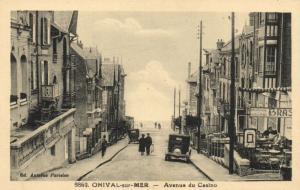 CPA ONIVAL-sur-MER - Avenue du Casino (121352)