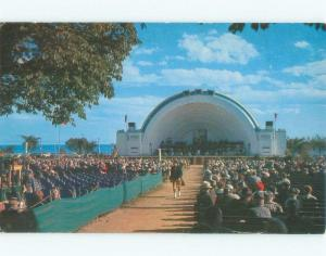 Pre-1980 BANDSHELL AT CNE CANADIAN NATIONAL EXHIBITION Toronto Ontario ON E8989