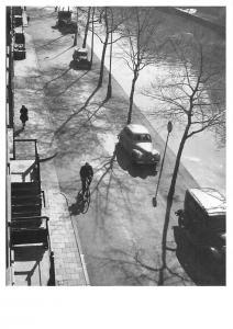 Netherlands Kees Scherer Amsterdam Street Vintage Cars Cyclist Promenade