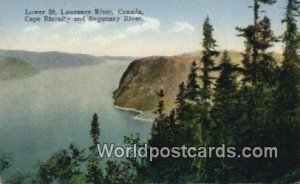Lower St Lawrence River Cape Eternity Canada Unused