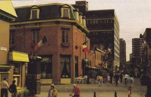 Rue Prince-Arthur Street, Montreal, Quebec, Canada, 40-60s