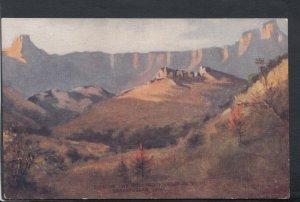 South Africa Postcard - The Berg From National Park, Drakensberg, Natal T7129