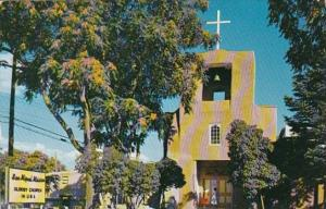 New Mexico Santa Fe San Miguel Church 1958