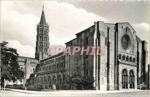 Modern Postcard Basilica Ssaint Sernin Toulouse (eleventh and thirteenth s)