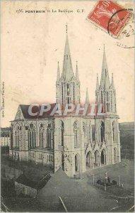 Postcard Old Basilica Pontmain