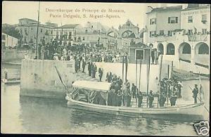 portugal azores acores PONTA DELGADA Principe de Monaco