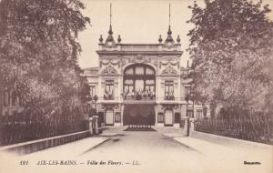 AIX LES BAINS, Savoie, France, 1900-1910's; Villa Des Fleurs