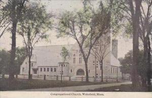 Massachusetts Wakefield Congregational Church