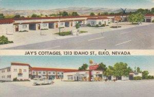 ELKO , Nevada, 30-40s; Jay's Cottages, Split-View