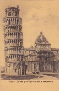 Italy Pisa Duomo Parte Posteriore E Campanile