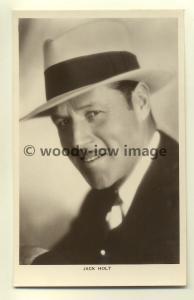 b0043 - Film Actor - Jack Holt - Picturegoer Postcard 163b