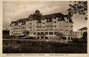 CPA AK Konigstein- Hotel Konigsteinr Hof GERMANY (949101)
