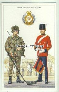 su2640 - Corps of Royal Engineers, Artist - Douglas.N.Anderson - modern postcard