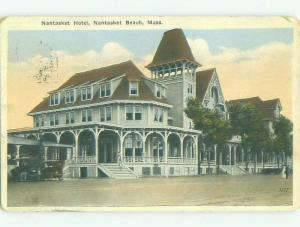 W-Border NANTASKET HOTEL Nantasket Beach Massachusetts MA HQ4503