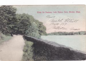 MENDON , Massachusetts ,PU-1910s ; Along the Roadway, Lake Nipmuc Park