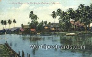Philippines, Pilipinas Moro Village, Rio Grand Mindanao Moro Village, Rio Gra...