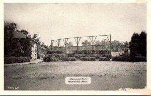 Massachusetts Mansfield Memorial Park Dexter Press