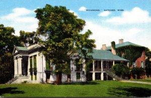 Mississippi Natchez Richmond Ante-Bellum Home