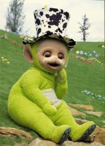 British Pre-School Children's Television Series TELETUBBIES, Dipsy (1996) 1