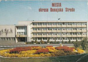 Slovakia Dunajská Streda district national commitee