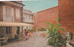 Louisiana New Orleans Chateau Motor Hotel 1001 Chartres Street