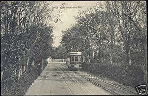 kent CLIFTONVILLE Northdown Road, TRAM Margate Ramsgate