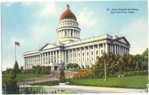 D/B State Capitol Building Salt Lake City Utah UT