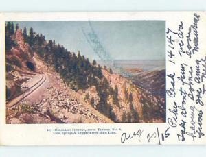 Pre-1907 CRIPPLE CREEK SHORT LINE Colorado Springs CO A1572