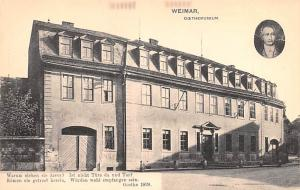 Weimar Germany Goethemuseum Weimar Goethemuseum