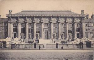 Le Palais De Justice, Facade Sur La Place Dauphine, Paris, France, 1900-1910s