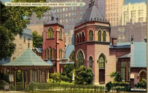 NY - New York City. The Little Church Around the Corner