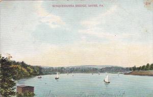Scenic view, Susquehanna Bridge, Sayre,  Pennsylvania,  00-10s