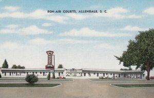 ALLENDALE, South Carolina, 1910-30s; Bon-Air Courts