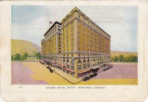 Mount Royal Hotel, MONTREAL, Quebec, Canada, 1910-1920s