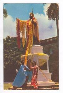Kamehameha Statue,King Of Hawaii Nei,Honolulu,HI,1961