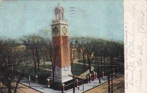 Rhode Island Clock Tower Brown University 1909