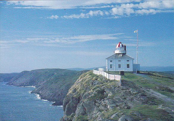 Canada Cape Spear Lighthouse St John's Harbour Newfoundland