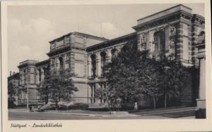Stuttgart Germany - LANDESBIBLIOTHEK - Bombed in WW II demolished later 1930s