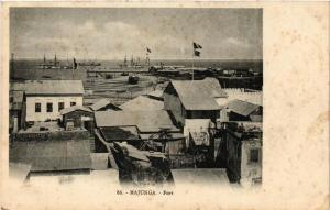 CPA Majunga. Port. MADAGASCAR (626065)