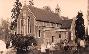 St Mary's Church Long Ditton United Kingdom, Great Britain, England Unused