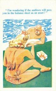 Comic Postcard Garland, Rudolf & Co. W122, Seaside Joke, Humour KL4
