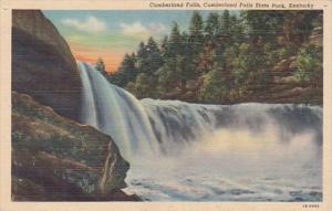 Kentucky Cumberland Falls Cumberland Falls State Park Curteich